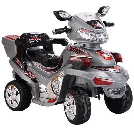 costzon 4 Rueda Niños paseo en moto 6 V funciona con pilas r/c eléctrico