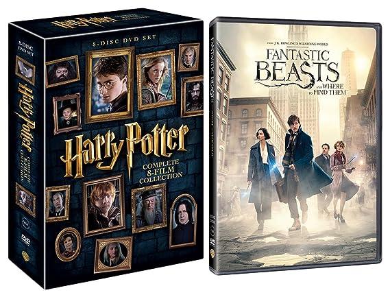Amazonin Buy Harry Potter The Complete 8 Film Boxset Fantastic