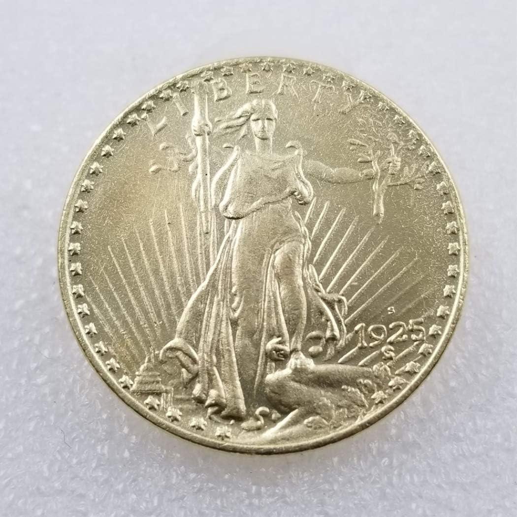 YunBest 1925 Moneda Antigua Conmemorativa de los Estados Unidos ...