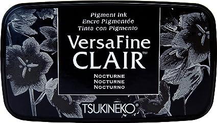 Image ofTsukineko Nocturne VersaFine Almohadilla de Tinta Clair, Material sintético, Negro, 5,6 x 9.7 x 2.3 cm, 5.6 x 9.7 x 2.3 cm
