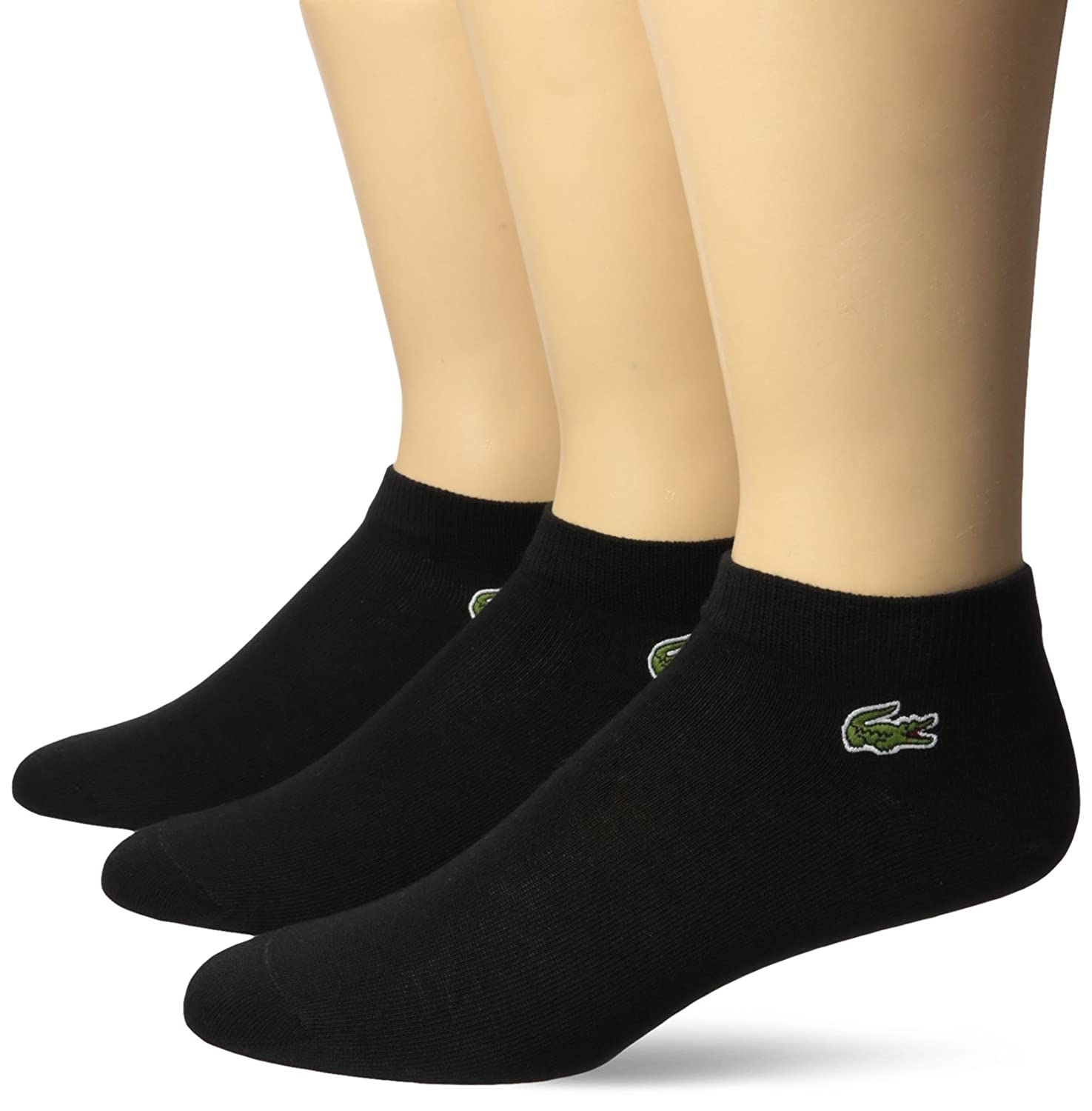Lacoste Mens 3 Pack Jersey Ped Sock Ra1163