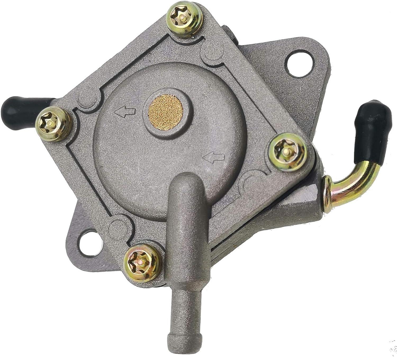 Solarhome Vacuum Fuel Pump Gas Pump for Kawasaki Mule 500 520 550 49040-2067