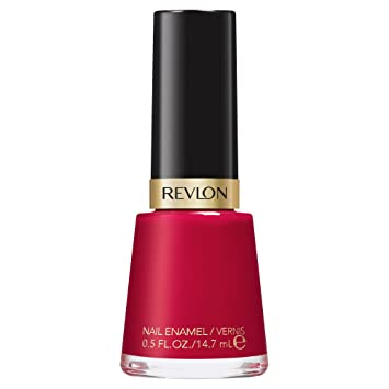 Amazon Com Revlon Nail Enamel Revlon Red Beauty