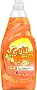 Gain Island Fresh Dishwashing Liquid, 21.6 Ounce