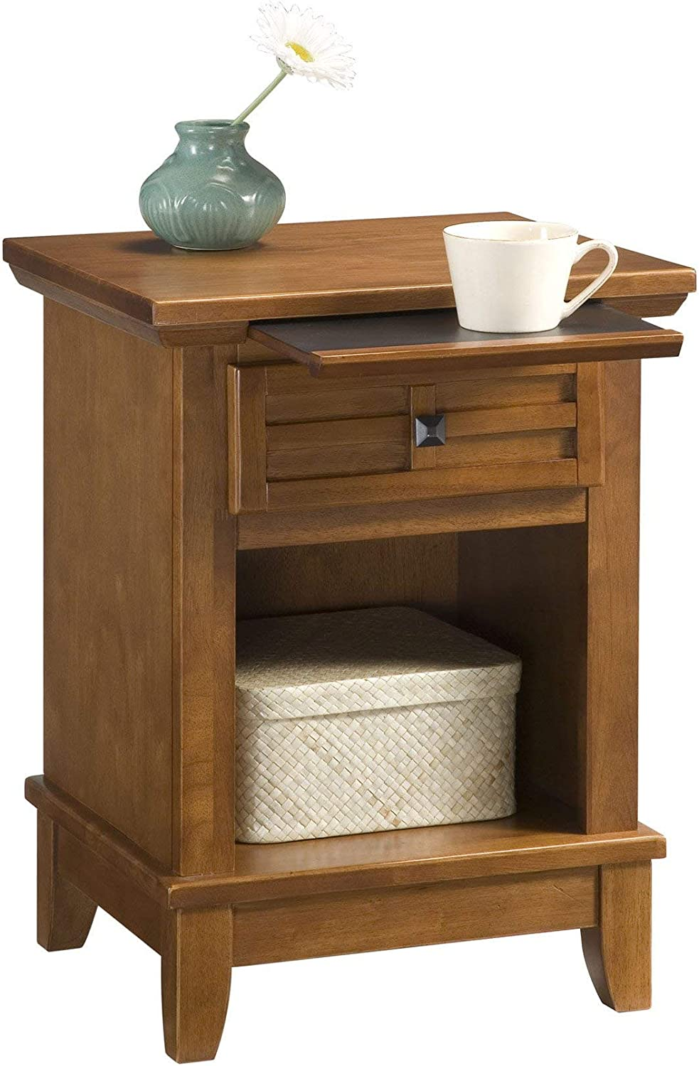 Arts & Crafts Cottage Oak Night Stand by Home Styles: Furniture & Decor