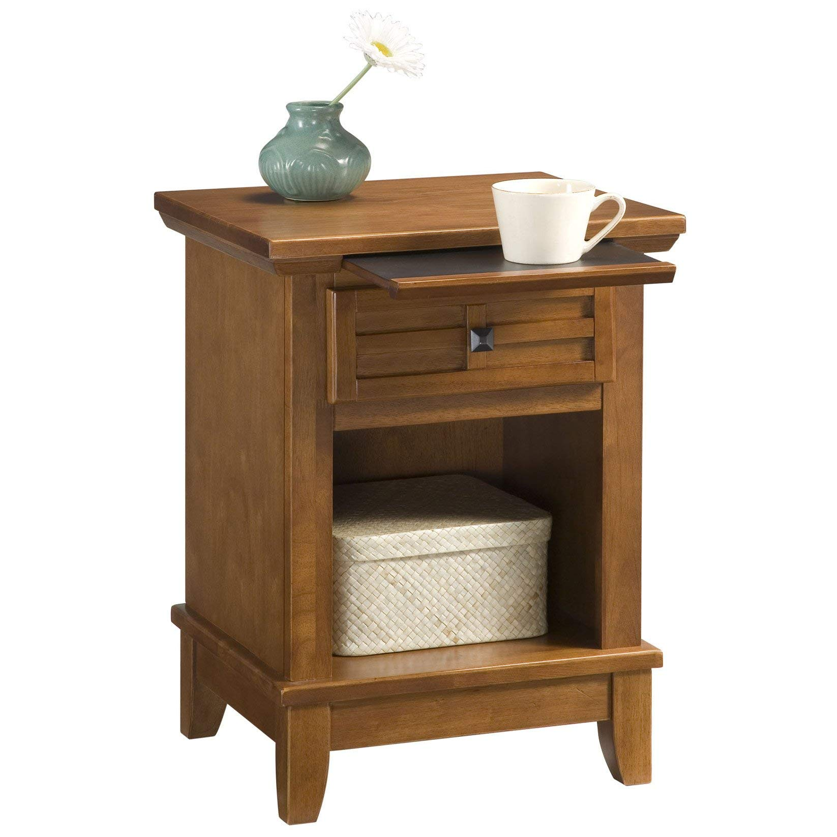 Arts & Crafts Cottage Oak Night Stand by Home Styles by Home Styles