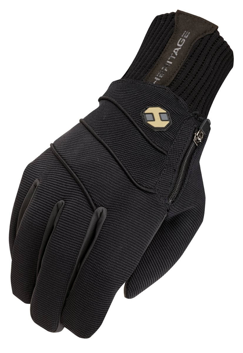 Heritage Gloves Extreme Winter Gloves, Size 4, Black