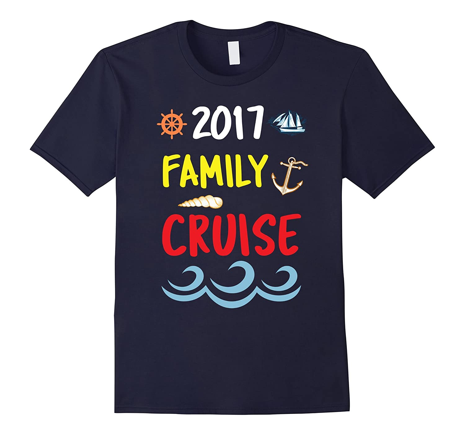 2017 Family Cruise boat Tshirt-TH