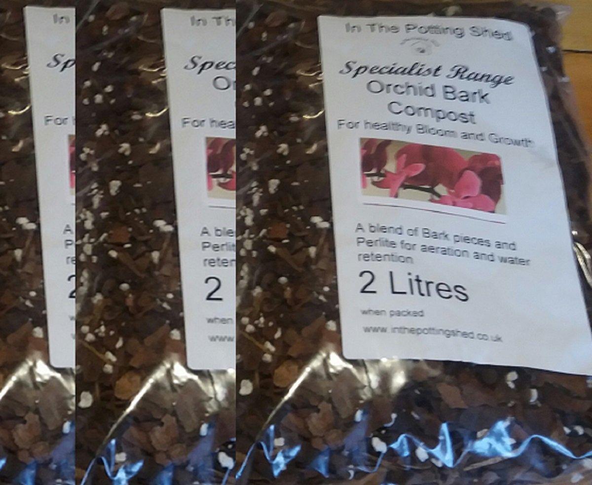 3 x 2 litres Orchid Bark Compost inthepottingshed