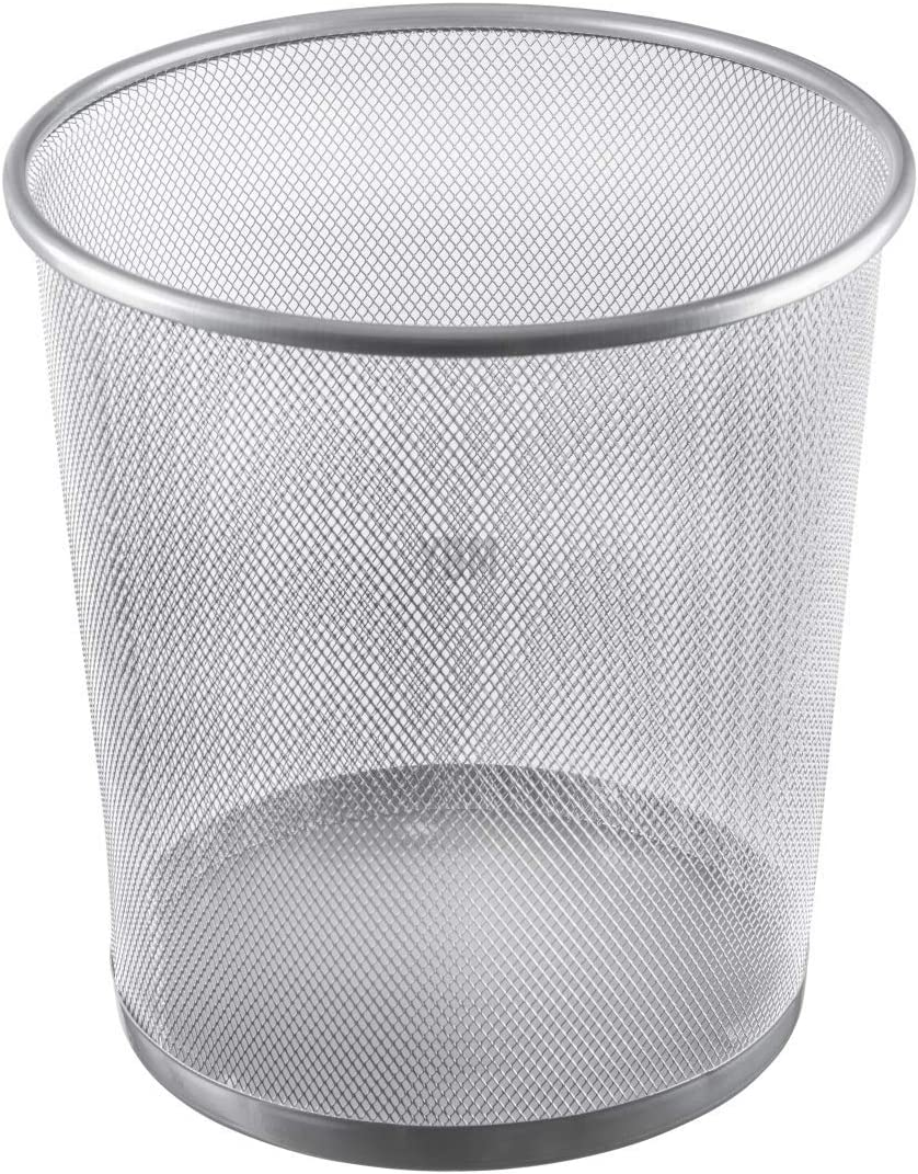 YBM HOME 2485vc Storage Basket, Silver