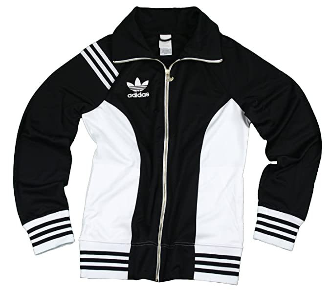 Amazon.com   adidas Womens Lightweight Trefoil Track Jacket (Small ... ec2531e01