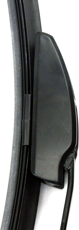 SET 2x INION/® Good Wiper Front Scheibenwischer 600 mm//400 mm mit Hakenbefestigung Wischerbl/ätter Set Scheibenwischerbl/ätter Satz Premium Qualit/ät AERO f/ür Frontscheibe