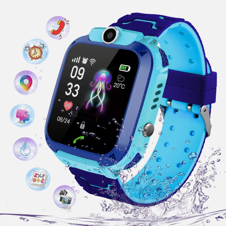 PTHTECHUS Niños Smartwatch Impermeable, Reloj Inteligente Phone ...