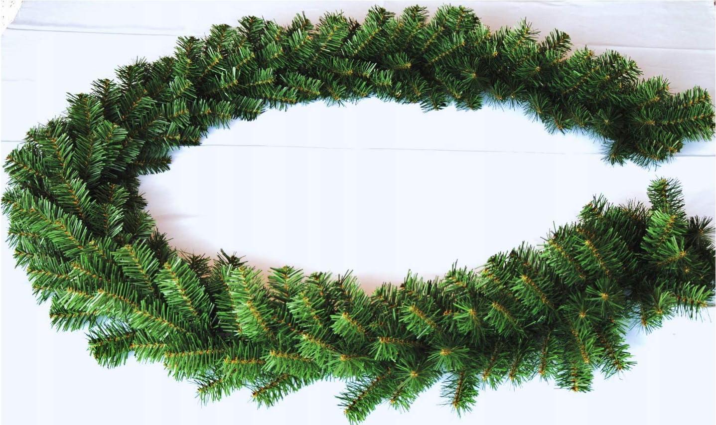 dekorative Weihnachtsgirlande ca Geodezja Lublin Dekorative Weihnachtsgirlande 3 m 3m // 6m // 9m gr/ün