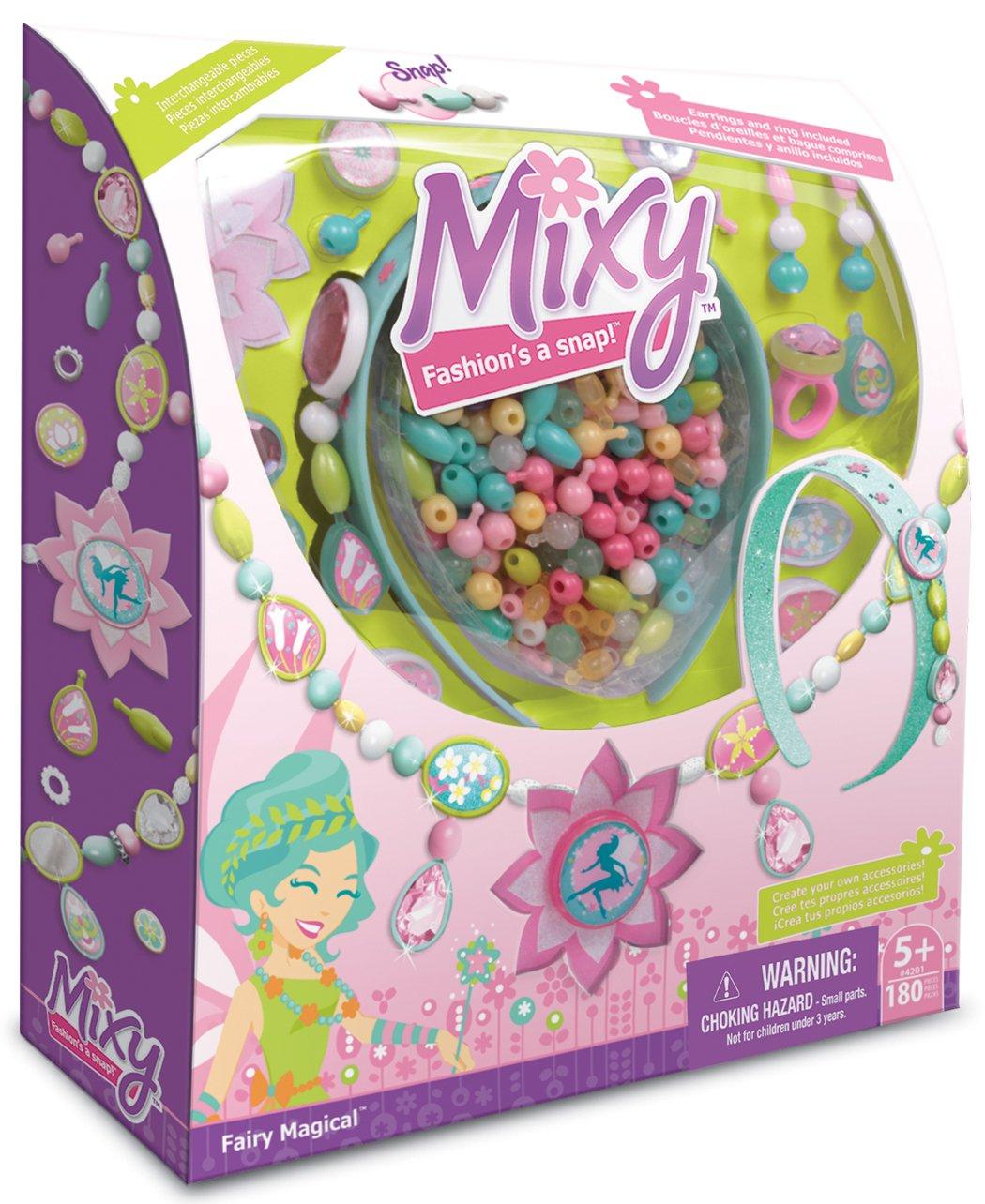 Unbekannt Wooky 4201 - Mixy Fairy Magical Schmuckbastel Set