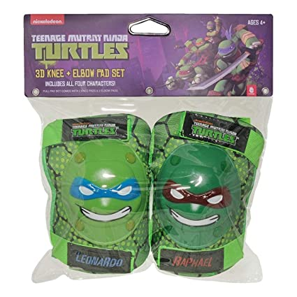 Amazon.com: Teenage Mutant Ninja Turtle rodilleras y coderas ...