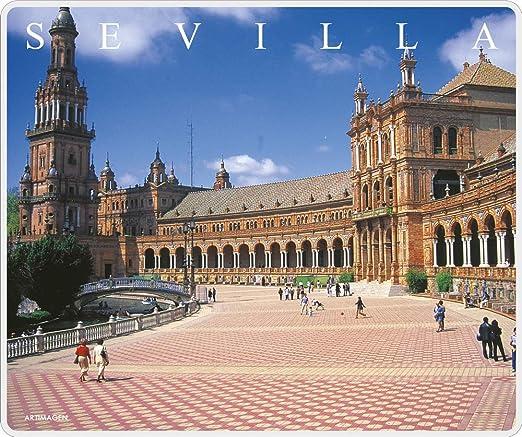 Artimagen Alfombrilla, Mouse Pad Plaza España Sevilla 245x205 mm.: Amazon.es: Electrónica