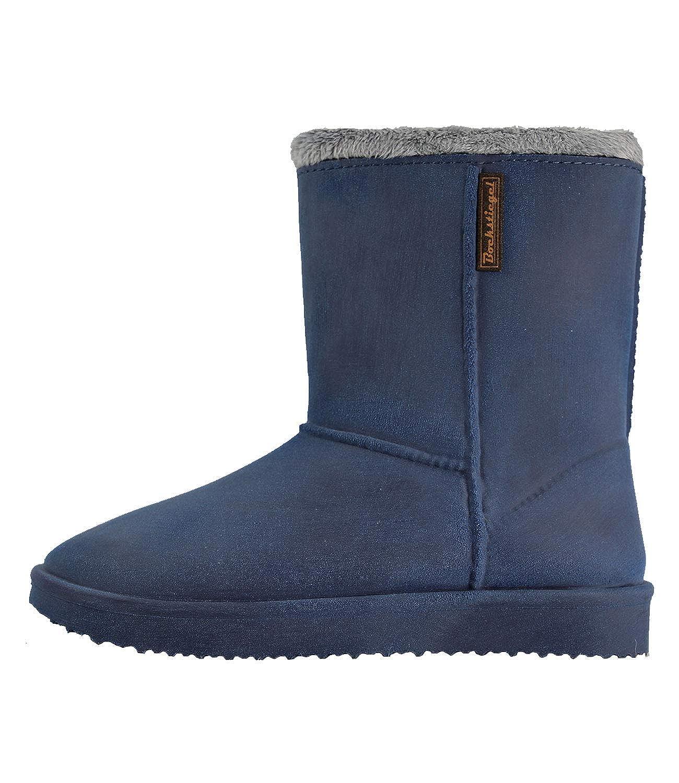 Blau Bockstiegel Damen Gummistiefel Vanessa Warmfutter im Stiefel -Design
