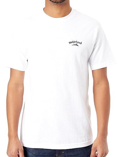dc7e0a18 Lakai White War Pig T-Shirt: Amazon.co.uk: Clothing