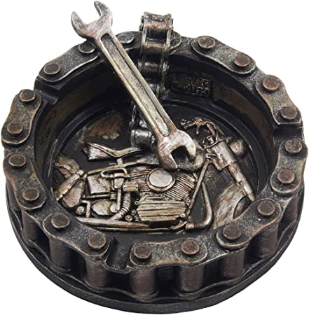 Motorcycle Wrench Ashtray