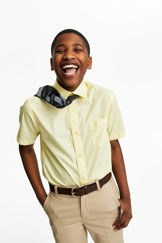 14 French Toast School Uniform Boys Short Sleeve Classic Dress Shirt Blue