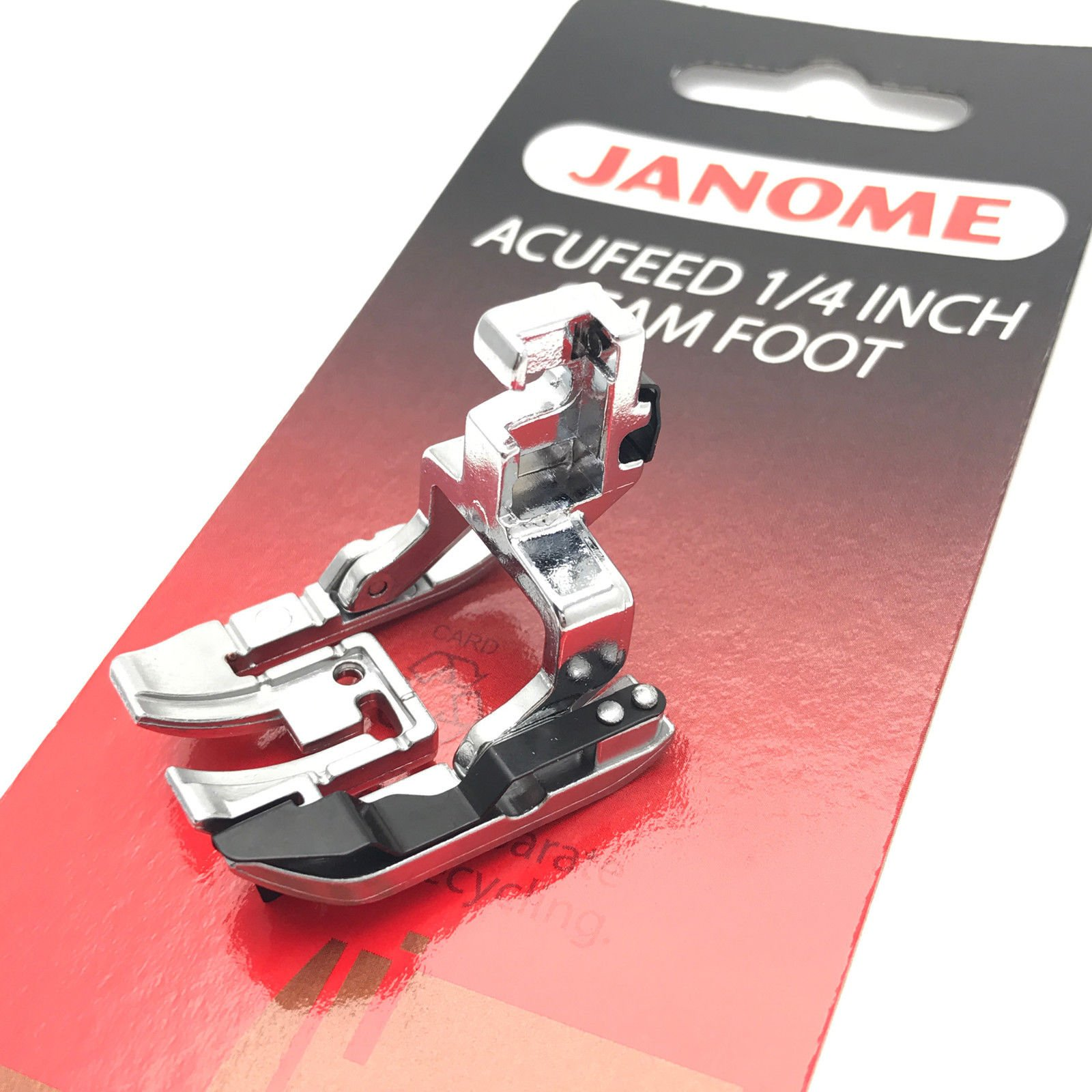 Janome Acufeed 1/4'' Seam Foot for MC7700 &6600 by Janome