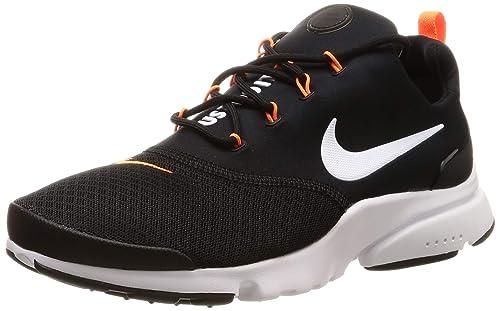 low priced 3ac47 d17cb Nike Presto Fly JDI, Zapatillas de Deporte para Hombre, (Black White Total  Orange 001), 44 EU  Amazon.es  Zapatos y complementos