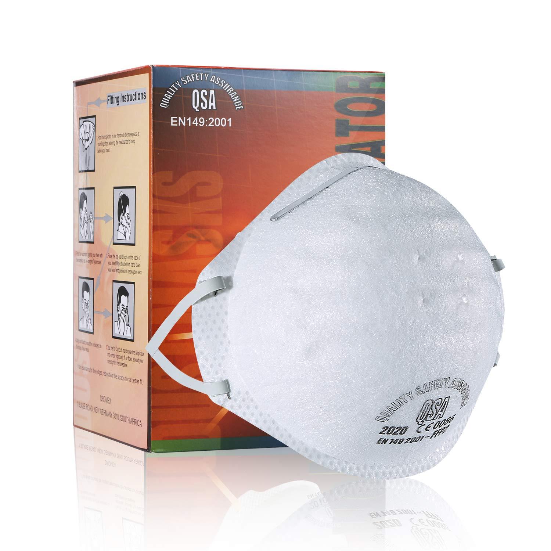 3M Máscara estándar, N95 Mascarillas Barrera a prueba de polvo Bacterias Protección respiratoria Tipo de válvula de cabeza, Productos reconocidos a nivel nacional, Entrega