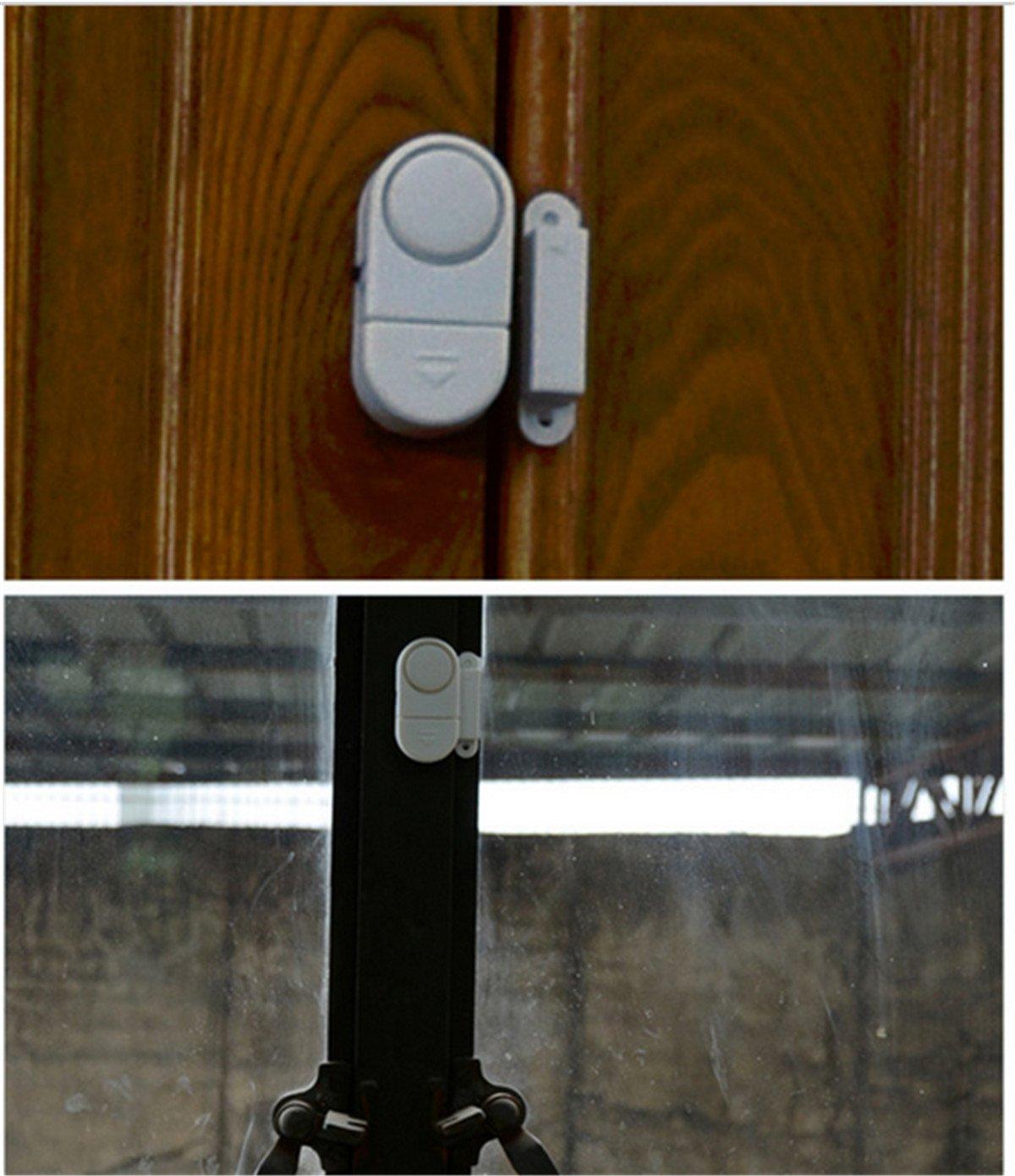 Casa Aution - PACK de Seguridad para customstyle - sistema de alarma Sensor magnético inalámbrico - Guardian Protector sistemas de alarma de seguridad para ...