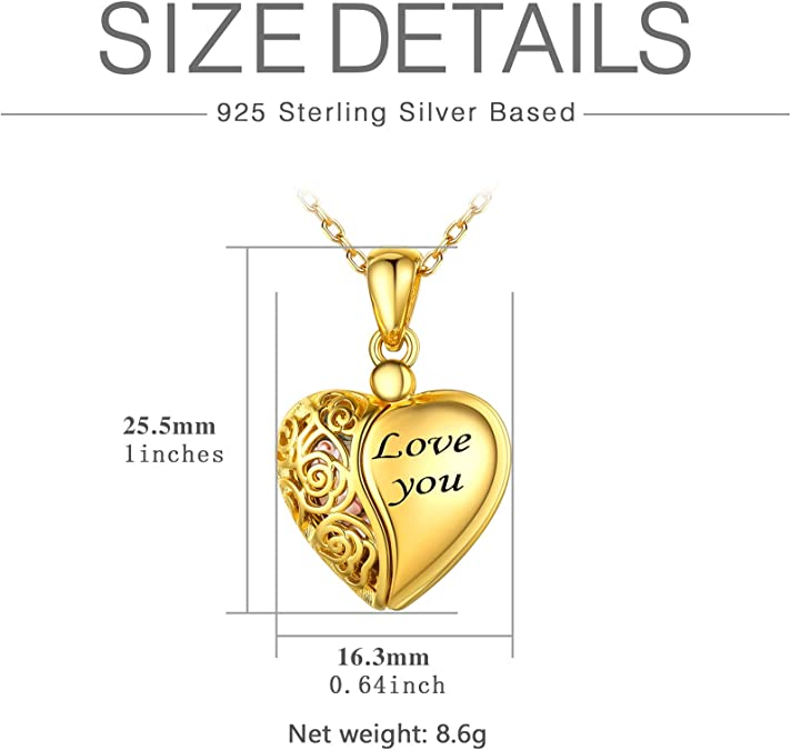 Gold tone Heart with Rhinestone Center 2414