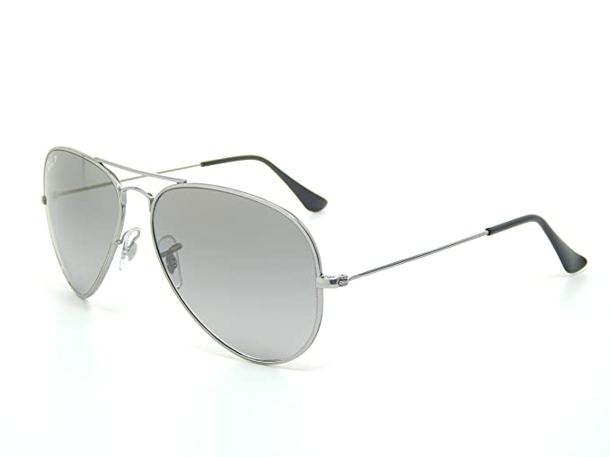 8f11e95e027d5 Image Unavailable. Image not available for. Colour  Ray Ban Titanium RB8041  086 M3 Titanium Gray Gradient 58mm Polarized Sunglasses