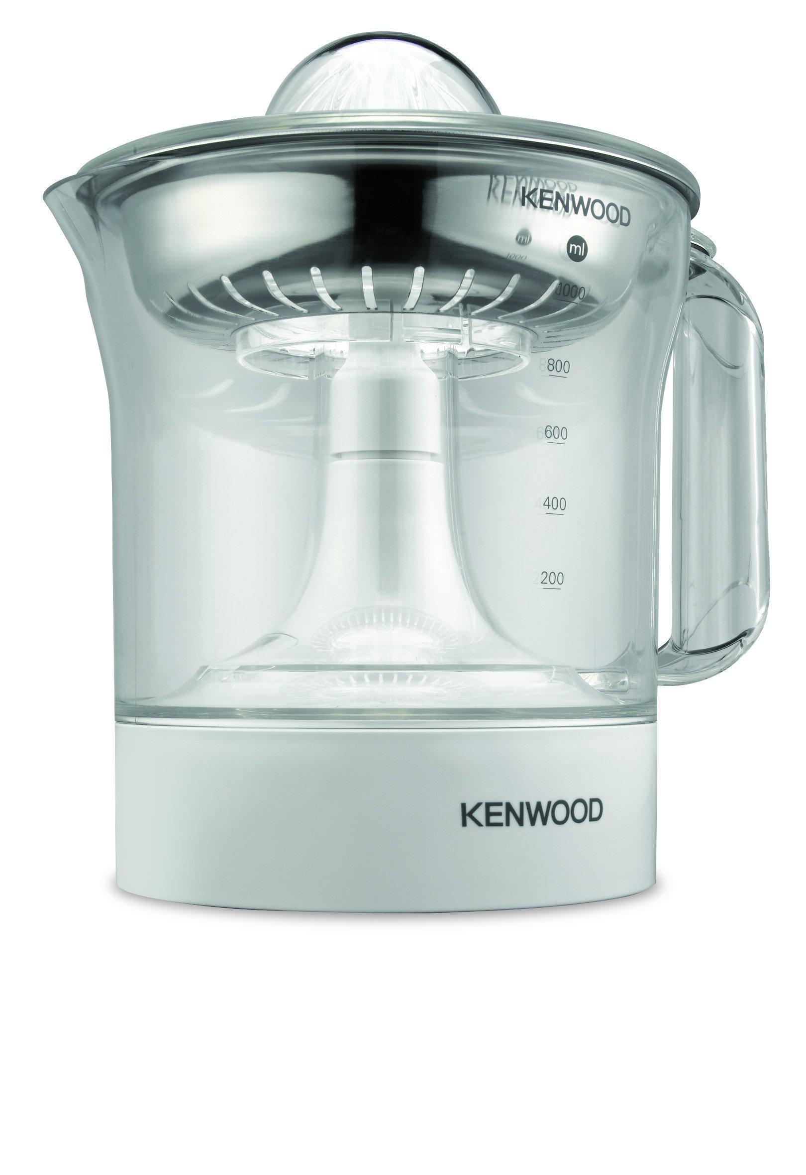 Exprimidor Eléctrico de Naranjas Kenwood JE290 - Potencia 40 W, 1 L, Rotación en