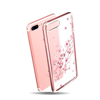 Amazon.com  KINGXBAR for Apple iPhone 8 Plus Case 0bd4e76db2