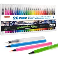 Shuttle Art 26 Pack Real Watercolor Brush Pens