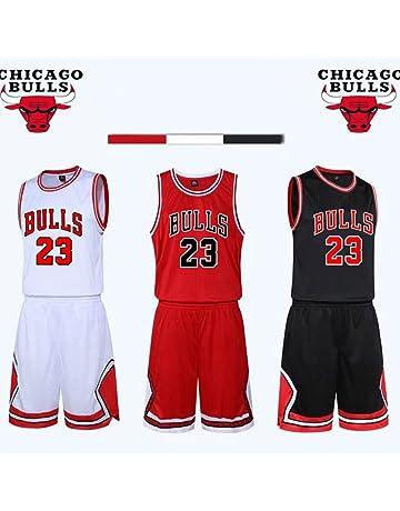 a7dc91b97f Kid Boy Mens NBA Michael Jordan  23 Chicago Bulls RETRO Basketball shorts  Summer Jerseys Basketball