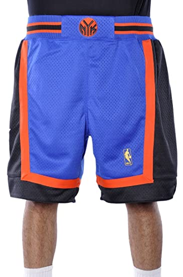 c599c18dd Amazon.com  Mitchell and Ness 96-97 New York Knicks Mens Shorts in ...