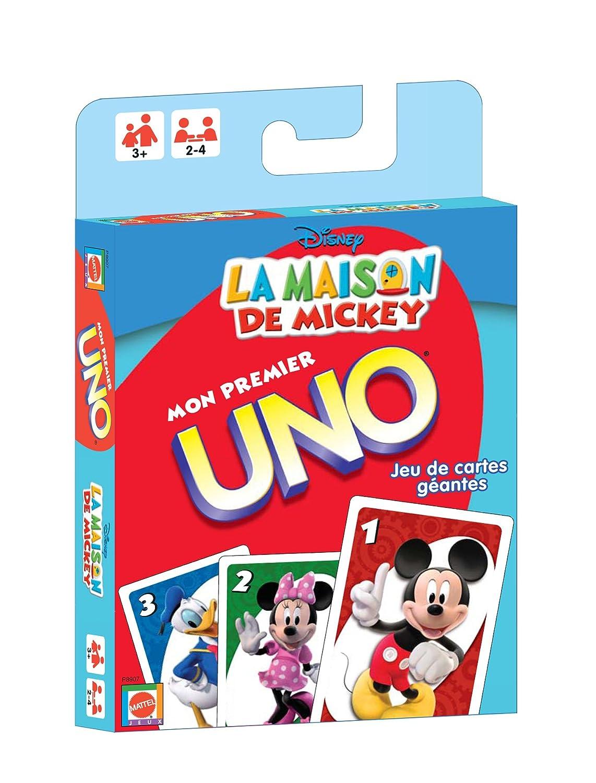 Mattel P8907 Mickey - Juego de cartas Uno: Amazon.es ...
