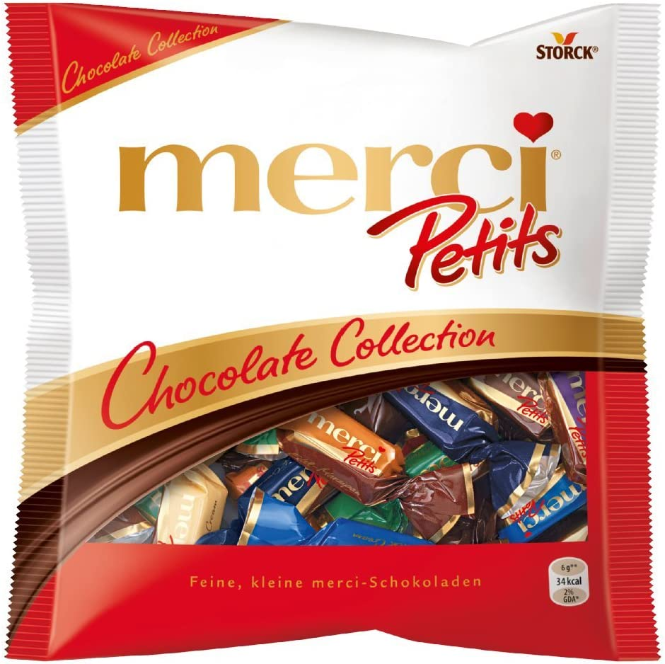 Bombones sin gluten MERCI (2 paquetes)