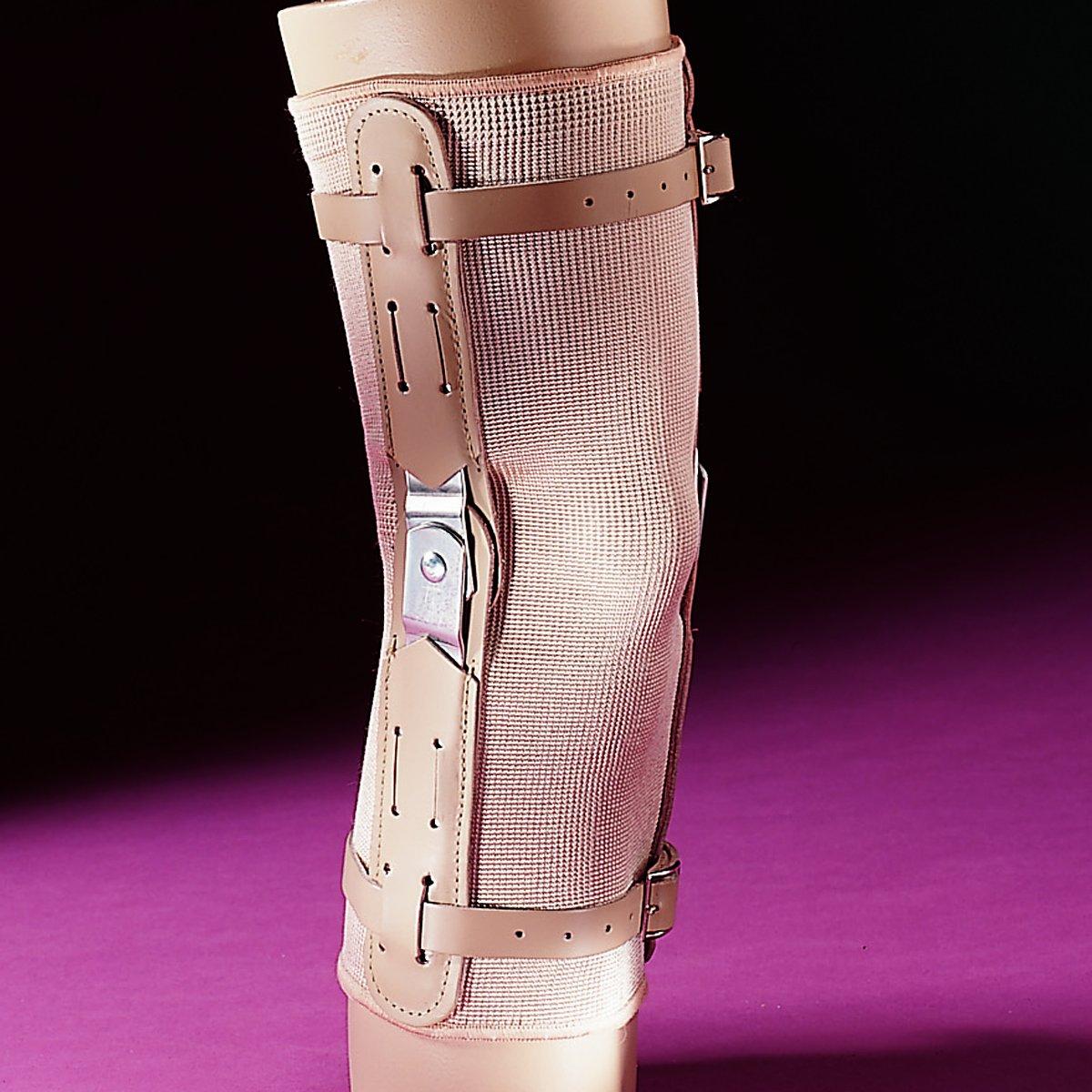 97c4863070 Amazon.com: Elastic Hinged Knee Brace Support Closed Patella 856 (S):  Health & Personal Care