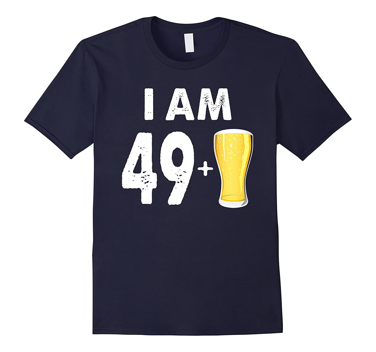 50 Years Old Beer Gift 50th Birthday Shirt-BN