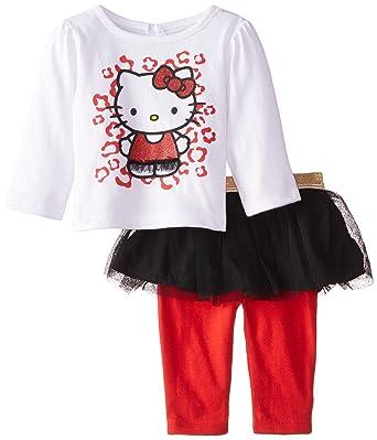 7a2195eadcd1 Hello Kitty Baby Baby-Girls Newborn 2 Piece Skegging Set