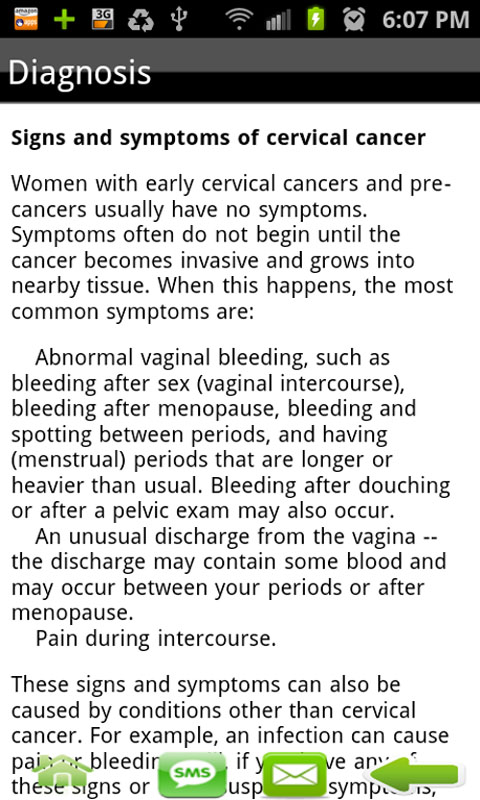 Amazon com: Cervical Cancer: Appstore for Android