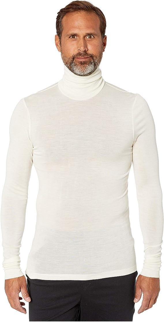 Hanro Damen Woolen Silk Rollkragenshirt Thermounterw/äsche Oberteil