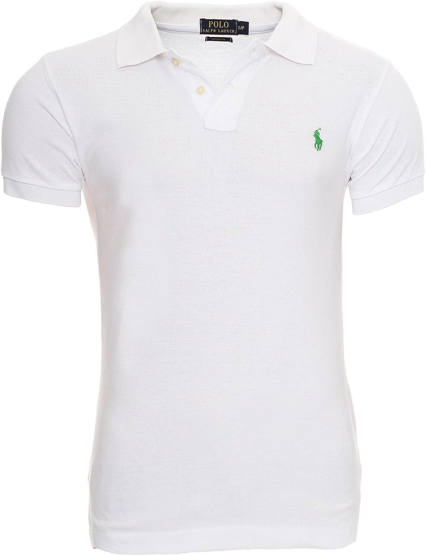 Ralph Lauren Polo - Polo para hombre, logotipo pequeño, ajustado ...