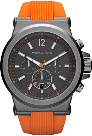 1b71da104984 Image Unavailable. Image not available for. Color  Michael Kors MK8296 Mens  Dylan Chronograph Watch