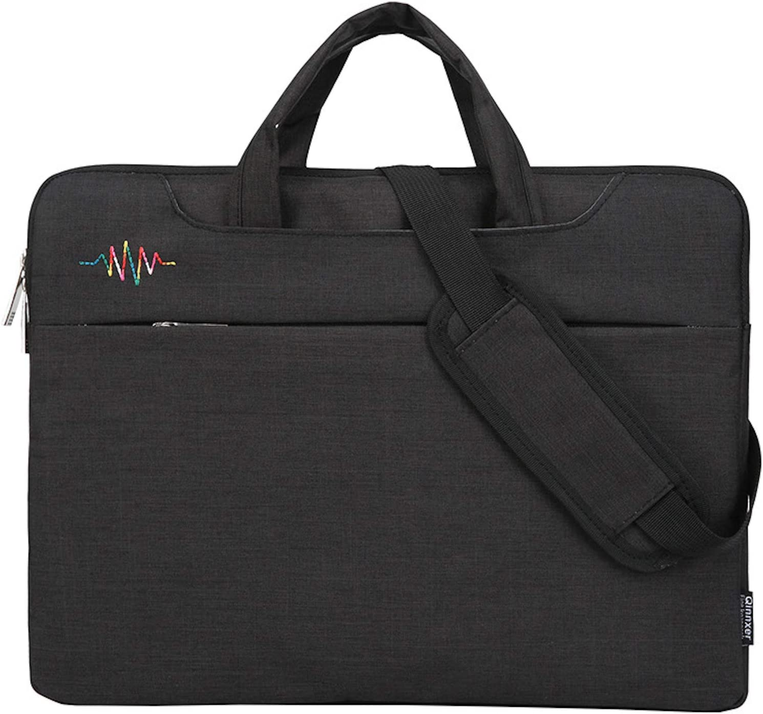 Elonglin Laptop Bag 13/14/15.6 Inch Briefcase Shoulder Tablet Satchel Sleeves Black 14inch