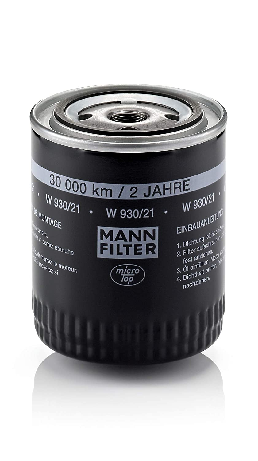 Mann-Filter W 930/21 Spin-on Oil Filter