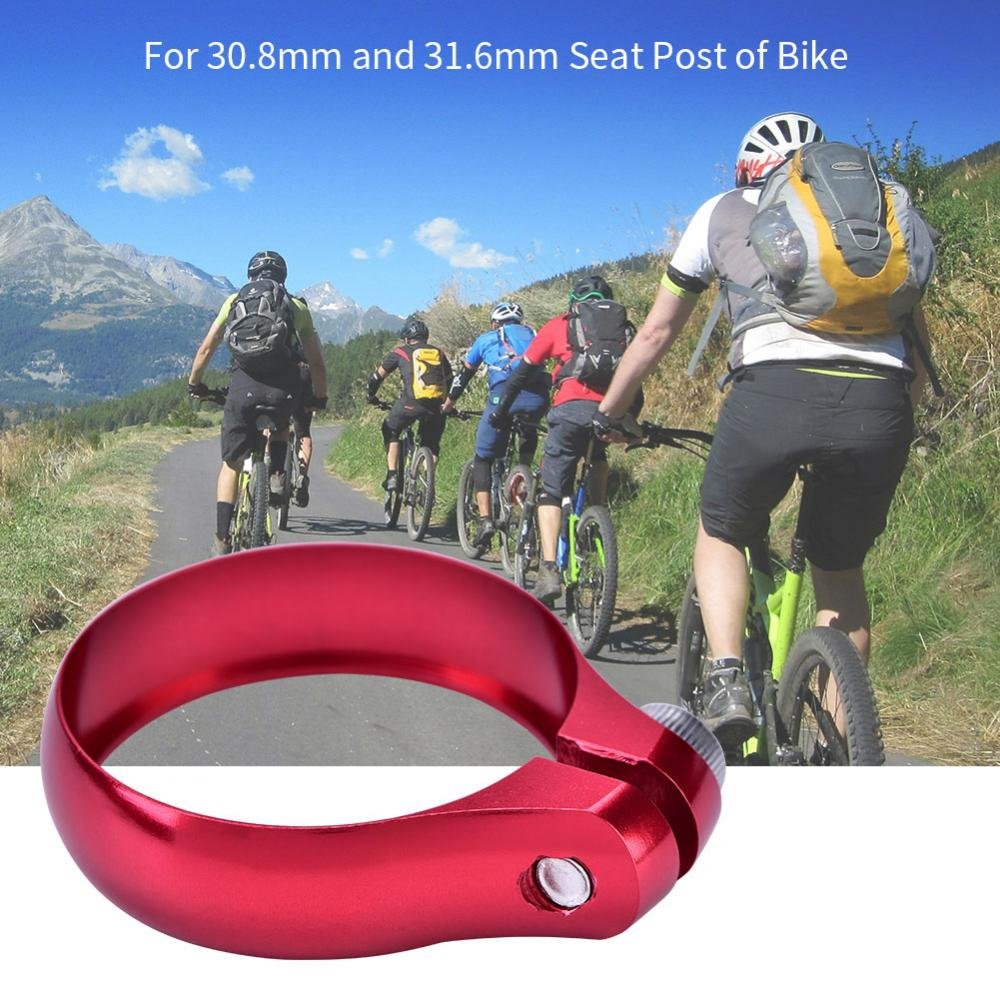 ONLY 21 G NEW MOUNTAIN//ROAD BIKE SEAT POST CLAMP 31.8