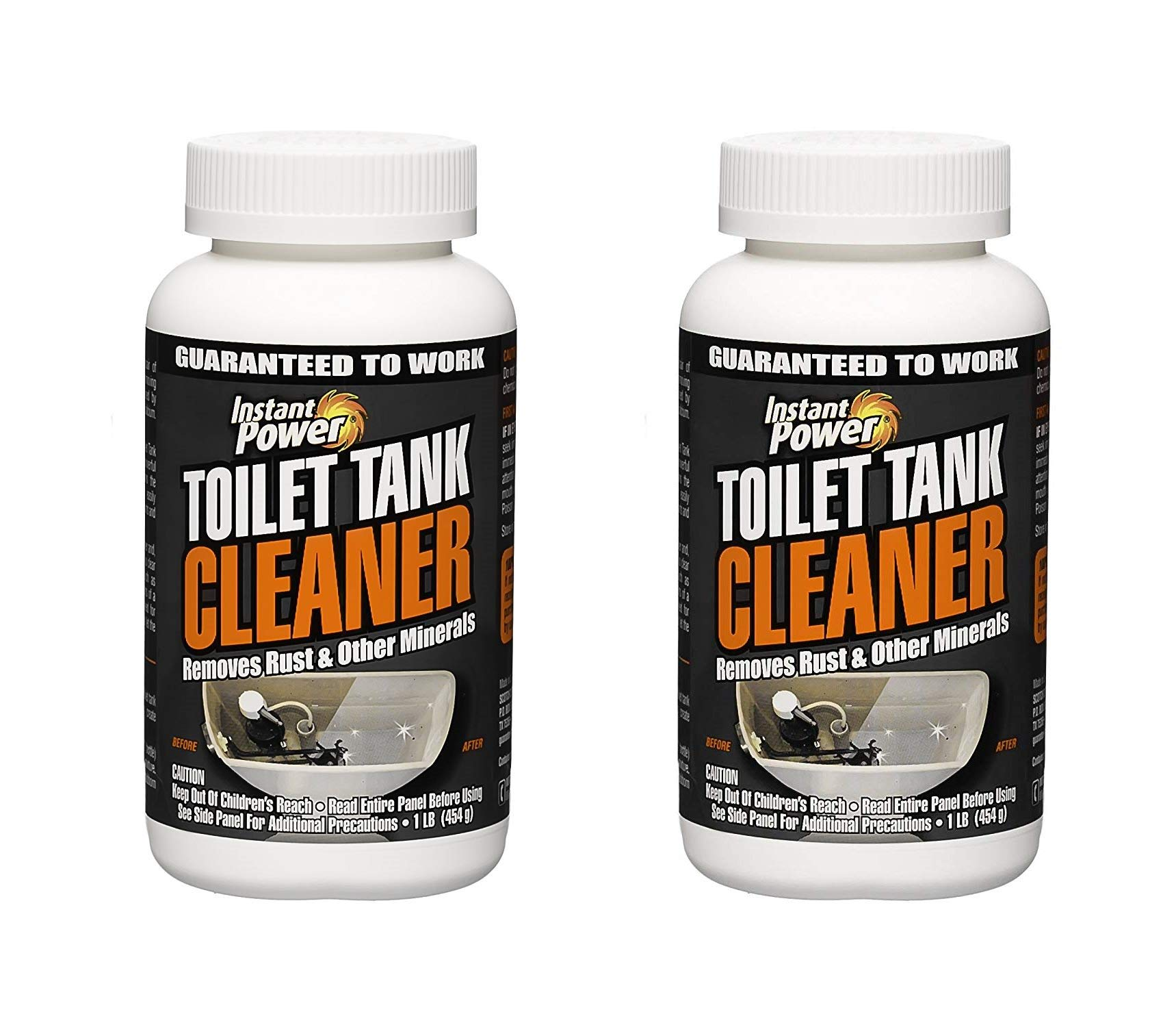 Instant Power 1806 Toilet Tank Cleaner, 16 oz (Тwo Рack, White)
