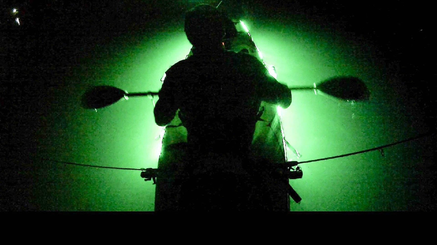 Kayak Led Lighting Add On Power Savor L.E.D. Green Fishing Lights Kayak Canoe Kit Attract Fish